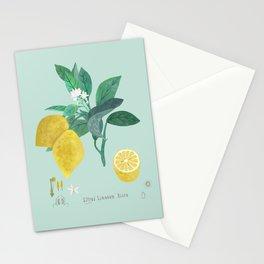 Citrus Limonum Botanical  Stationery Cards