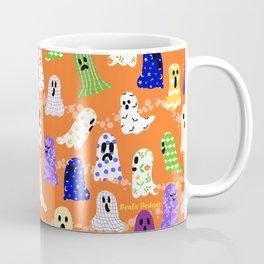 Ghosts In Designer Sheets Coffee Mug