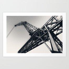 Crane II Art Print