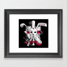 TMNT Casey Jones Framed Art Print
