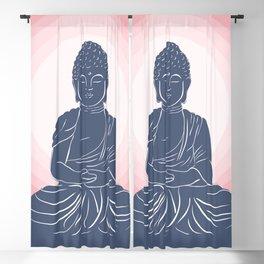 Peace, Love, Harmony.  Blackout Curtain