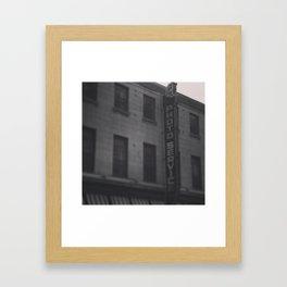 Photogenic MTL Framed Art Print