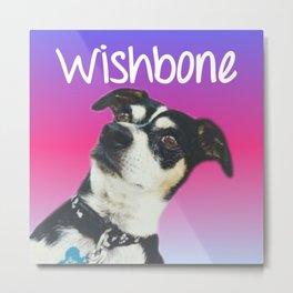 wishbone Metal Print