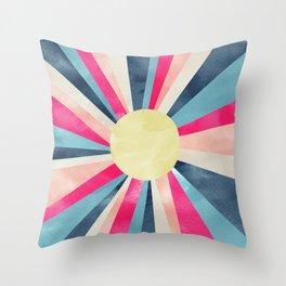 Ray of Sunshine Throw Pillow