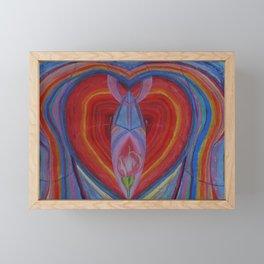Passion Framed Mini Art Print