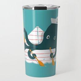 Sailor Octopus Travel Mug