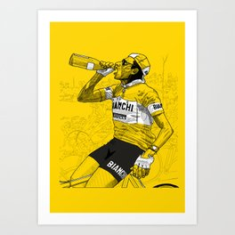Coppi Celebrates Art Print