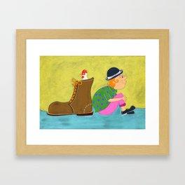 Jack & The Beanstalk Ⅲ Framed Art Print