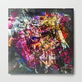 Abstract Blam Metal Print
