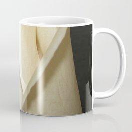 White Rosebud Rose Flower Modern Country Farmhouse Art A416 Coffee Mug