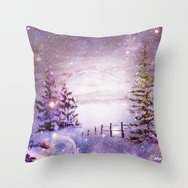 Universal Beauty Throw Pillow