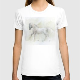 Running lippizzaner T-shirt
