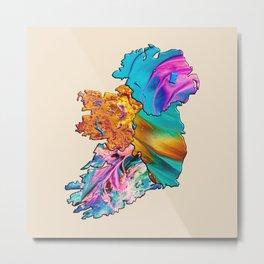 Four Proud Provinces of Ireland Metal Print