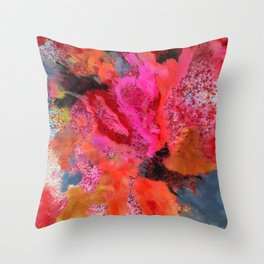 The Smell of Spring Throw Pillow