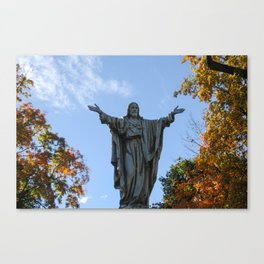 God Quad Canvas Print