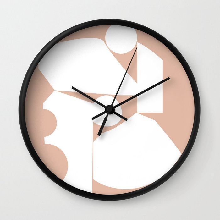 Shape study #16 - Inside Out Collection Wall Clock