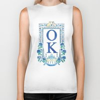 kim sy ok Biker Tanks featuring OK by RachelRogers