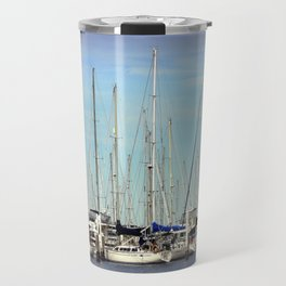 Armada of Yatchs Travel Mug