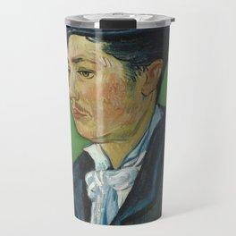 Portrait of Armand Roulin by Vincent van Gogh Travel Mug