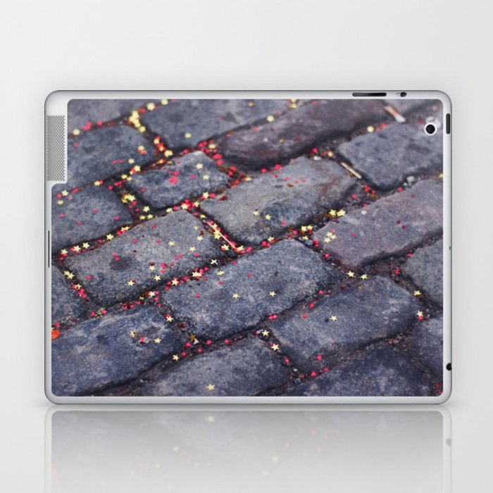 Rocks, stars, hearts Laptop & iPad Skin
