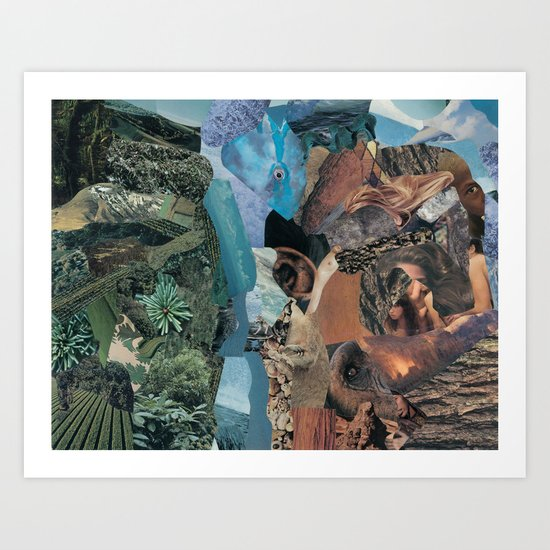 earth vibrations Art Print