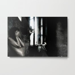 Silent Cries Metal Print