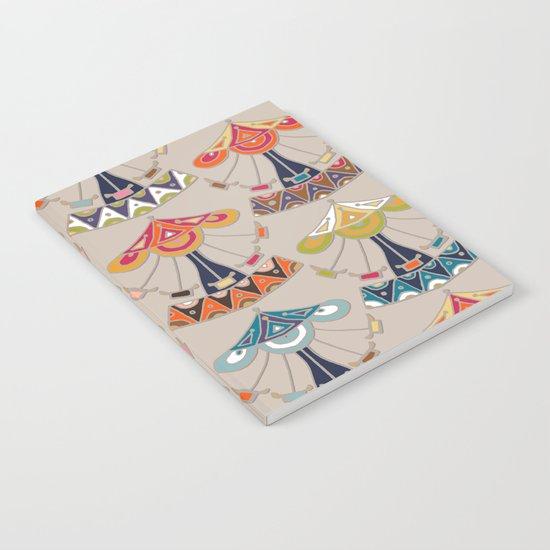 carousel damask Notebook