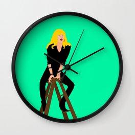 Cool Rider Stephanie Wall Clock