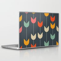 tulips Laptop & iPad Skins featuring Tulips by Tracie Andrews