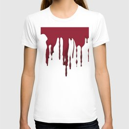 GOTH BLEEDING ART DESIGN T-shirt