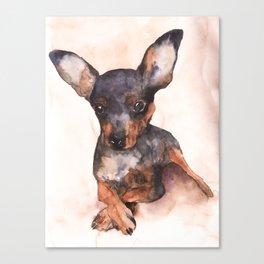 DOG #9 Canvas Print