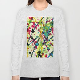 Experiments in Motion-Quad 1-Part 1 Long Sleeve T-shirt