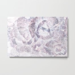 Violet Foliage Metal Print