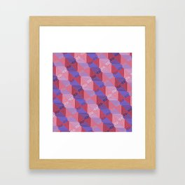 Op Art 172 Framed Art Print