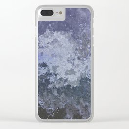 Rough Water Clear iPhone Case