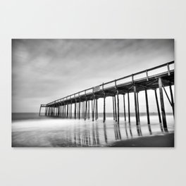 Ocean City Maryland, Fishing Pier Canvas Print