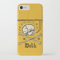 number iPhone & iPod Cases featuring Lucky Number by Landon Sheely