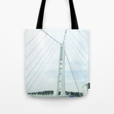 new bay bridge  Tote Bag