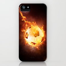Fire Football Slim Case iPhone (5, 5s)