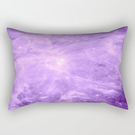 Lavender Orion Nebula Rectangular Pillow