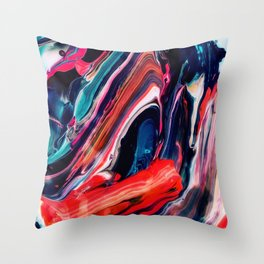 Ache Throw Pillow