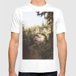 Forest trail - Landscape and Nature Photography T-shirt