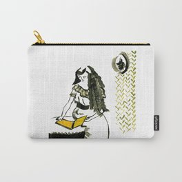Reading girl Carry-All Pouch