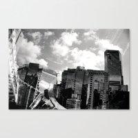 buildings Canvas Prints featuring Buildings  by Mich Li