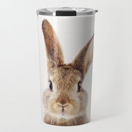 Baby Rabbit, Baby Animals Art Print By Synplus Travel Mug