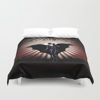 gotham Duvet Covers featuring Gotham Life by Spicy Monocle