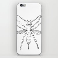 insect iPhone & iPod Skins featuring Insect by Martin Stolpe Margenberg