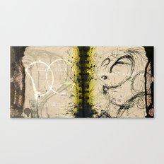 a burst of electricity Canvas Print