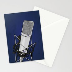 Neumann u87 Stationery Cards