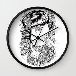 The Sugarcane Lady Wall Clock